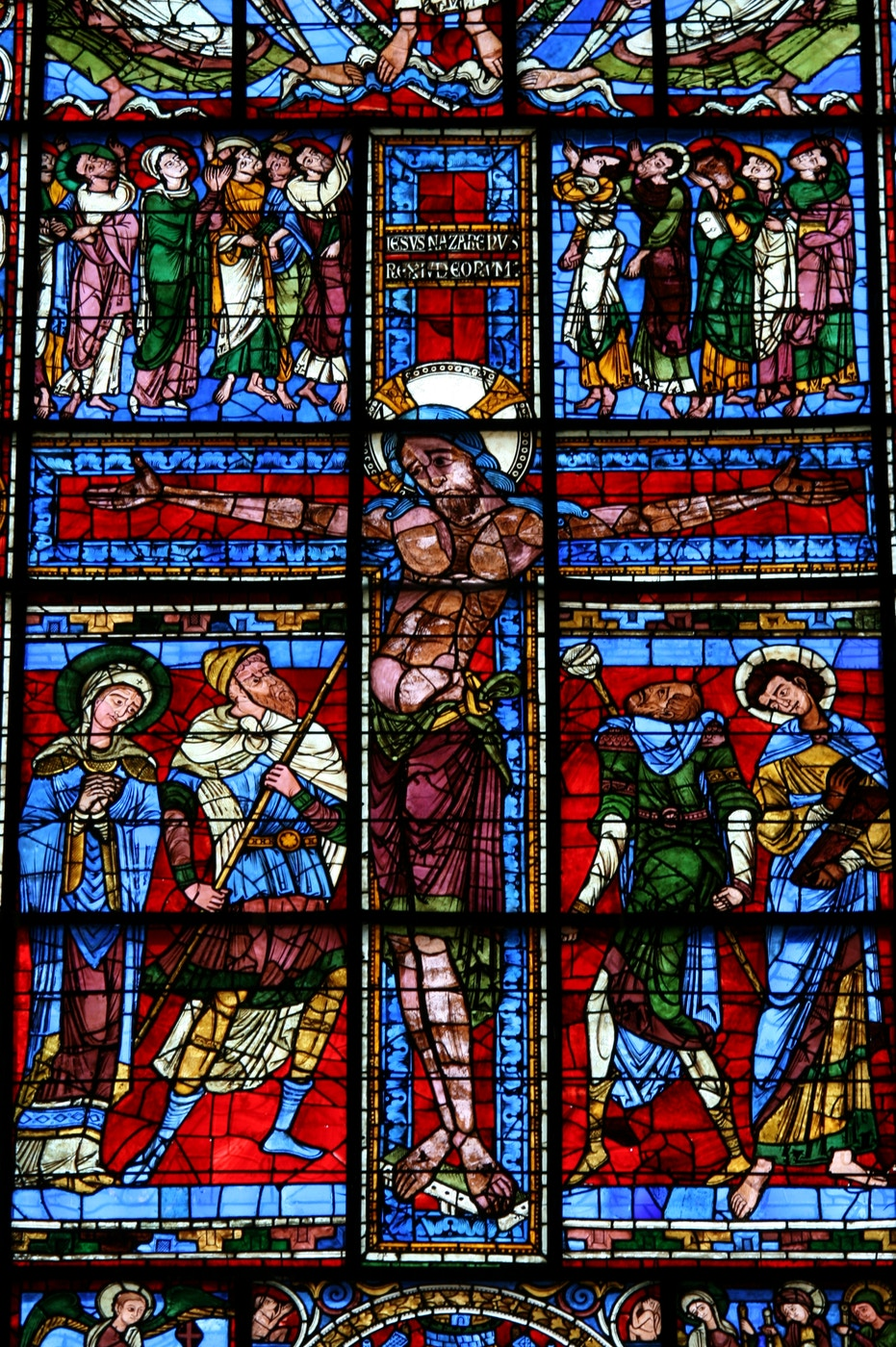 East Window: Crucifixion