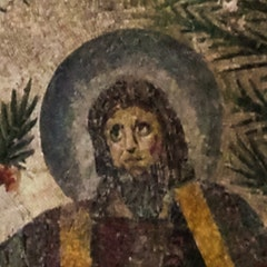 Traditio Clavium Mosaic