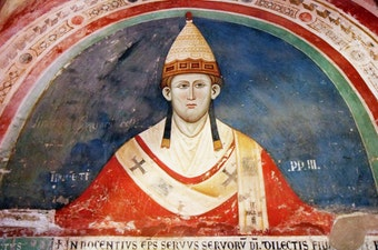 Pope Innocent III and His Bull