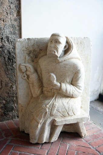 Lapidary Museum: St. Francis of Assisi