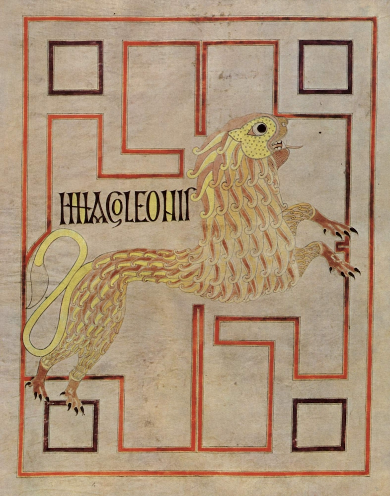 St. Mark from the Echternach Gospels