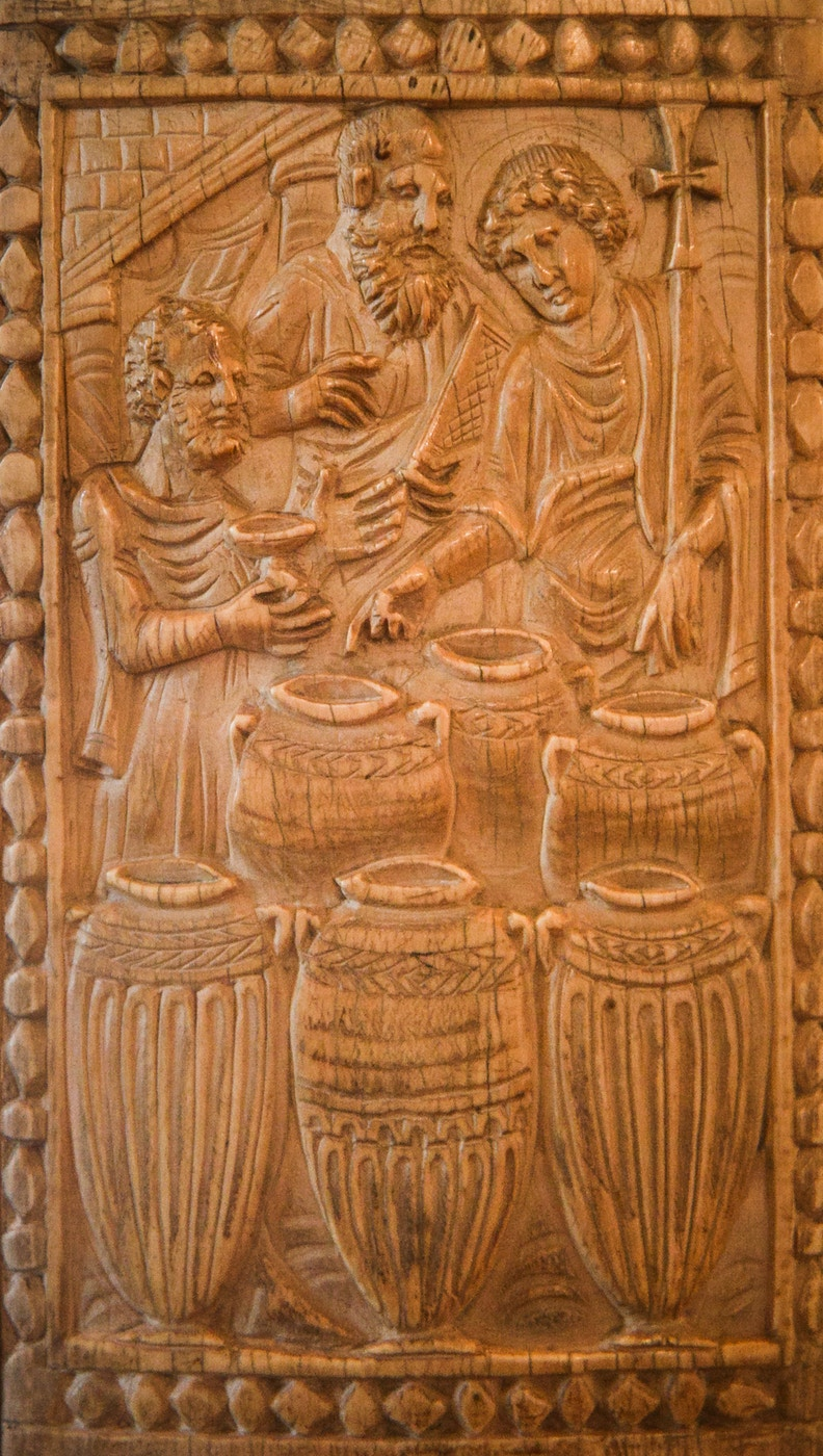 Throne of Maximian (c.550): Miracle of the Wine