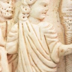Sarcophagus of Marcia Romania Celsa: Jesus