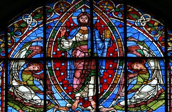 East Window: Ascension of Christ