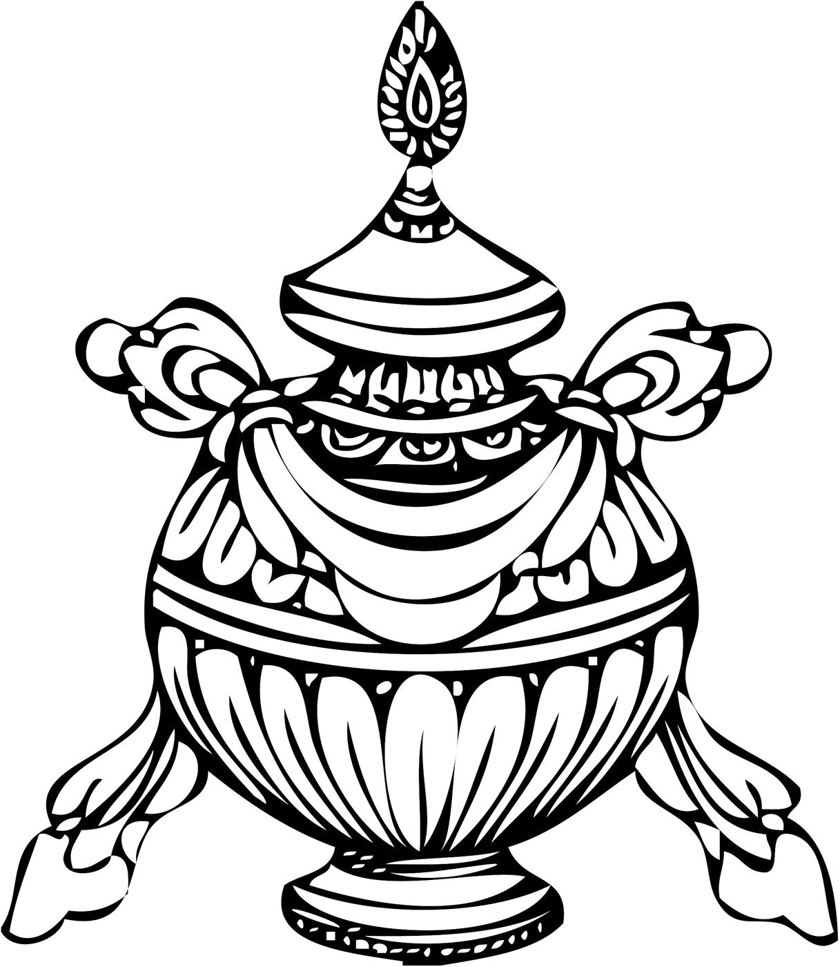 Treasure vase symbol religionfacts bumpa tibetan for vase wikimedia commons buycottarizona