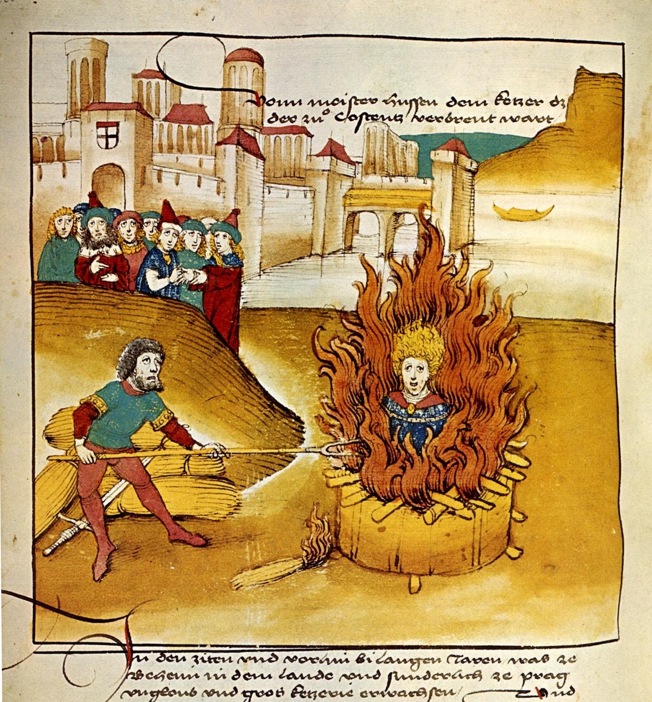 Burning of Jan Hus