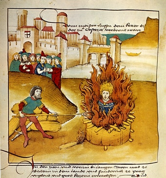 Burning of Jan Hus