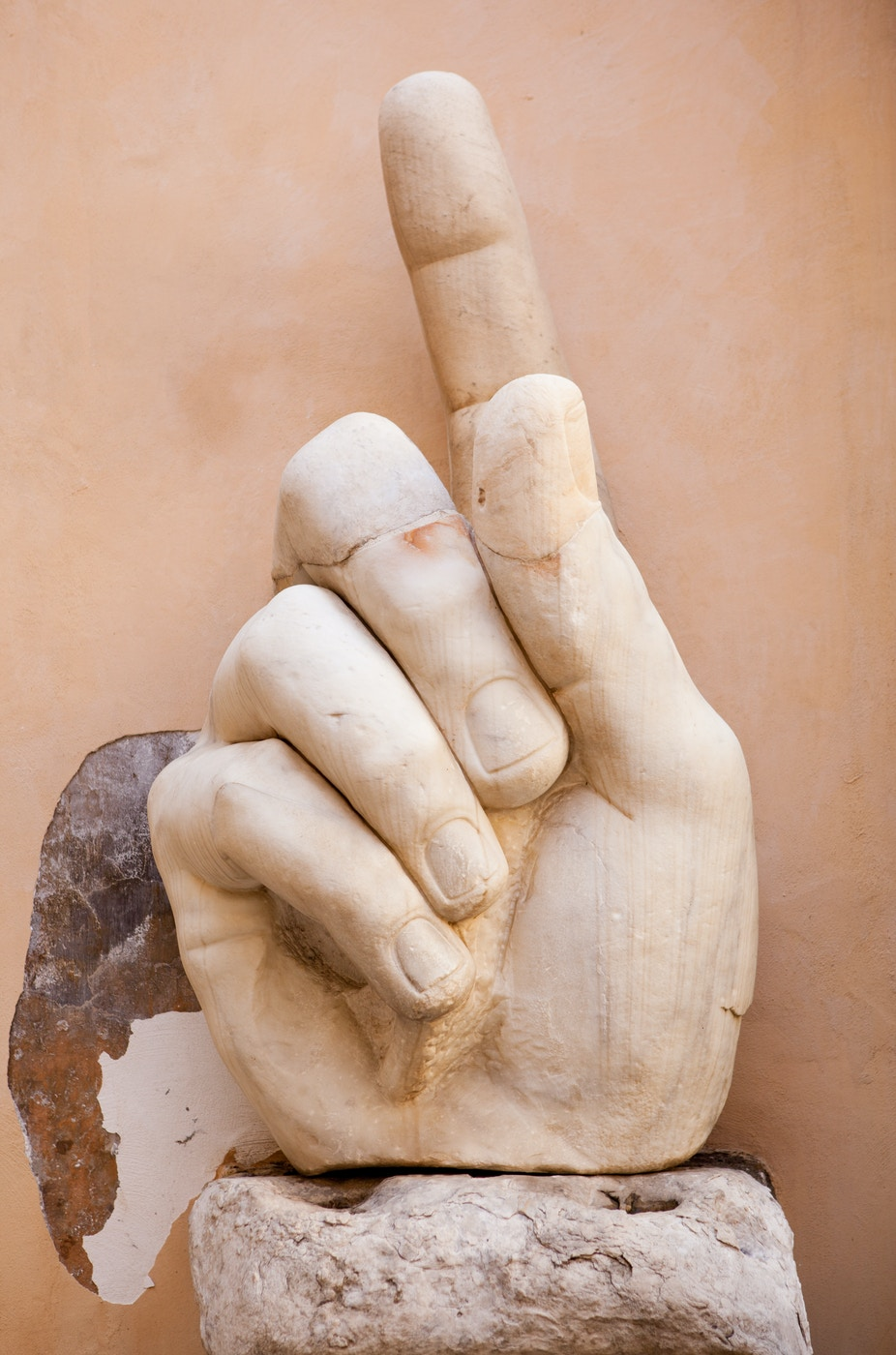 Colossal Statue of Constantine: Hand