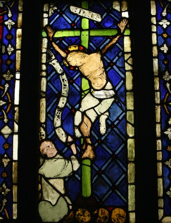 Stained Glass: Crucifixion