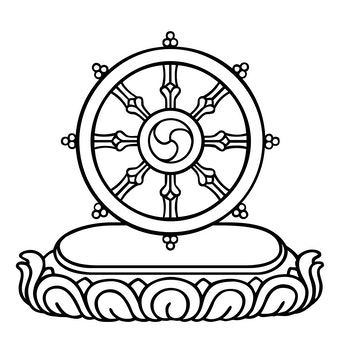 Dharma Wheel Religionfacts