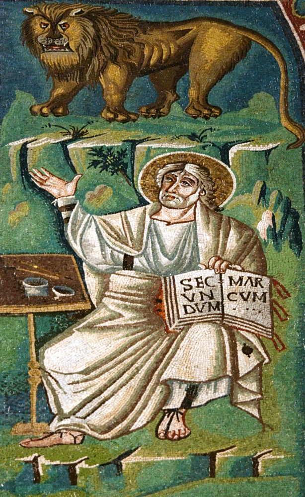 Saint Mark the Evangelist (c.547 AD)