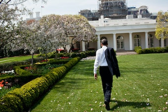 Obama in the Rose Garden