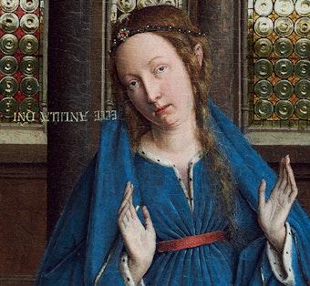 The Virgin Mary by van Eyck