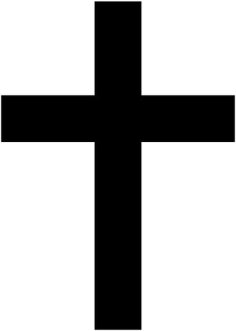 Latin Cross Symbol