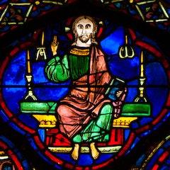 Zodiac Window 24: Christ in Majesty