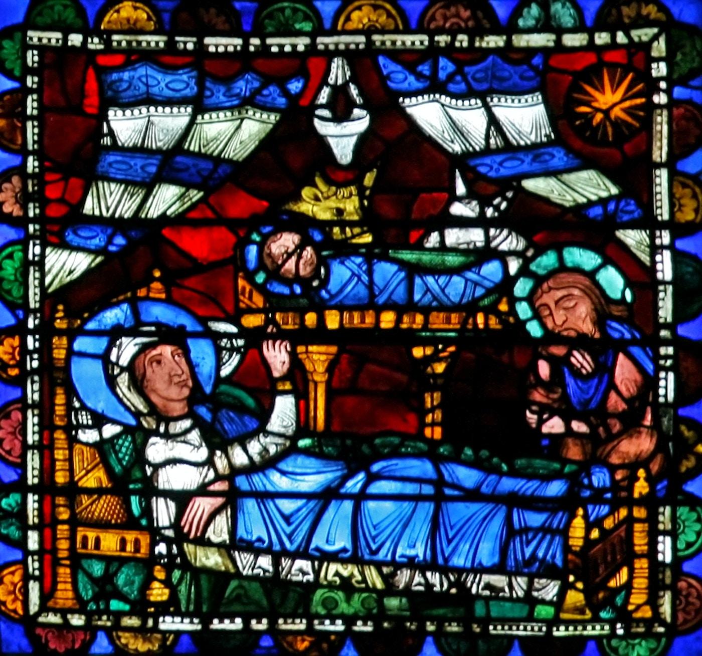 Life of Christ Window 3: Nativity