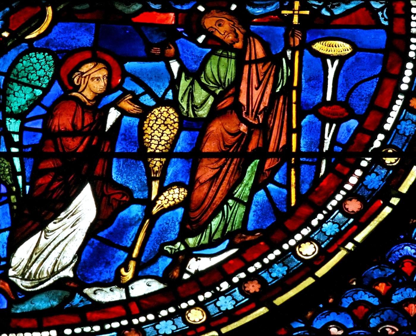 Mary Magdalene Window: 12: Noli Me Tangere
