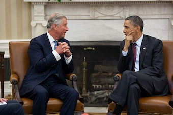 Prince Charles and President Obama