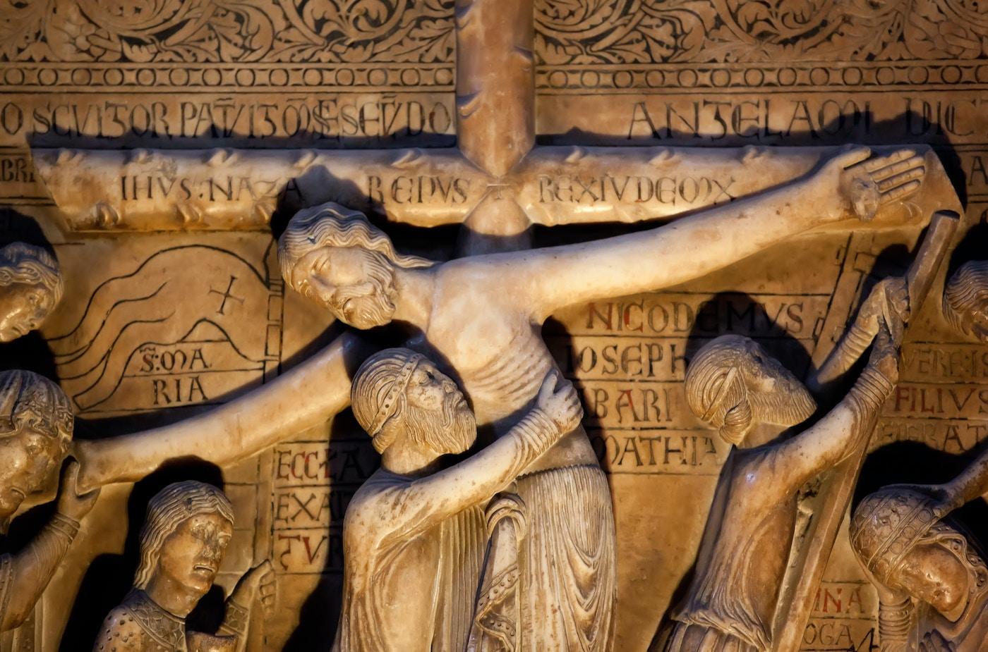 Deposition of Christ (1178): Detail
