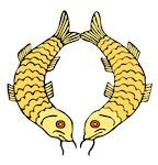 golden fishes symbol