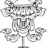 Buddhist parasol symbol
