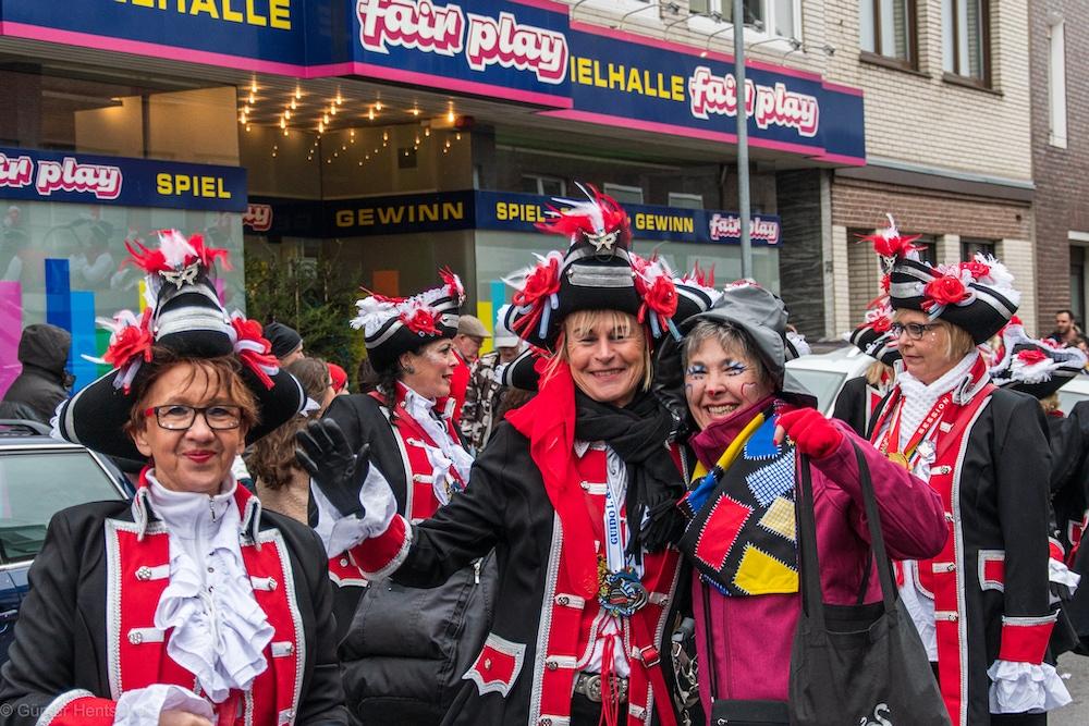 Karneval in Mariadorf (Rosenmontag 2020)