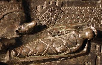 Bernward's Door: Nativity of Christ
