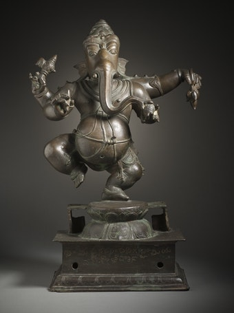 Dancing Ganesha, Lord of Obstacles
