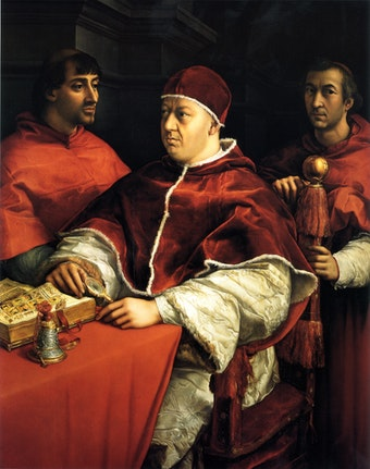 Portrait of Pope Leo X and His Cousins