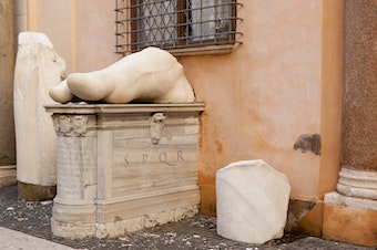 Colossal Statue of Constantine: Foot