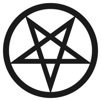 Inverted Pentagram or Pentacle