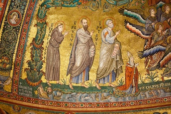 Apse Mosaic: Saints