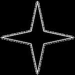 four-point star