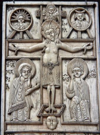 Ivory Panel: Crucifixion