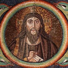 Arch Mosaic: Christ