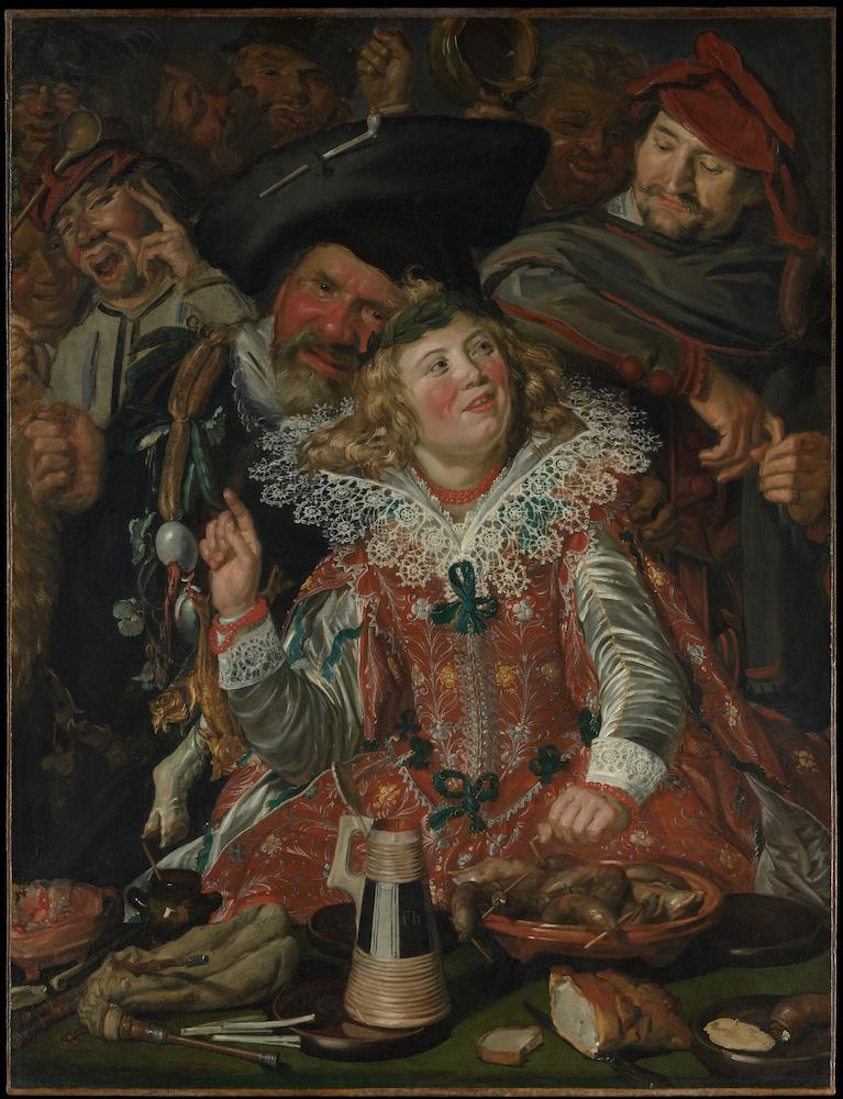 Merrymakers at Shrovetide (c. 1616)