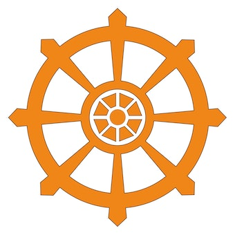 buddhist wheel of life template - dharma wheel religionfacts