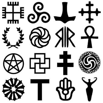Pagan religious symbols