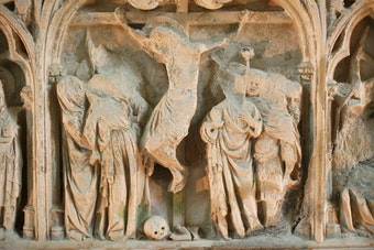 Reredos Detail: Crucifixion