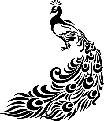 Peacock Symbol