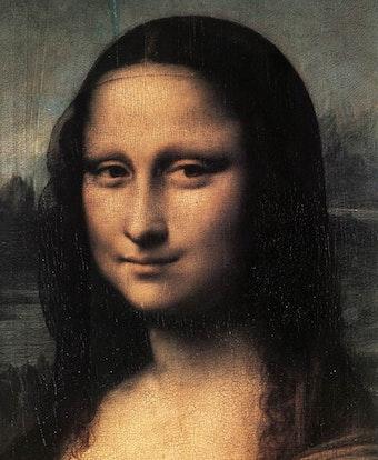 Mona Lisa (1505): Detail
