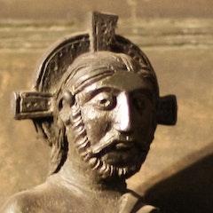 Bernward's Door: Trial of Christ
