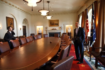 In the Cabinet Room