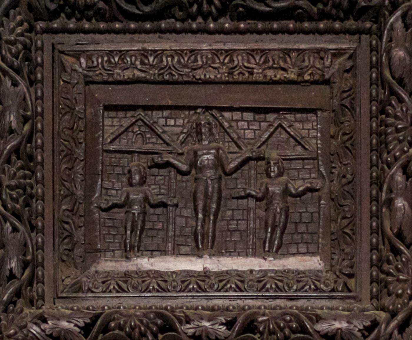 Cypress Door: Crucifixion