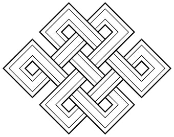 b1aa14396 Endless Knot Symbol - ReligionFacts